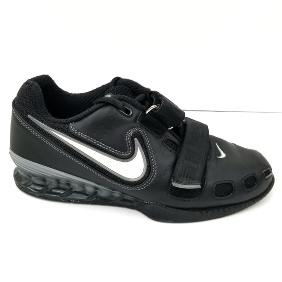 newest 6d2b9 7fc82 Nike Black Weightlifting Romaleos 2